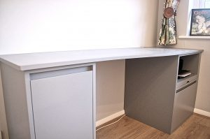 fitted desk